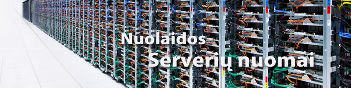 Nuolaida serveriai